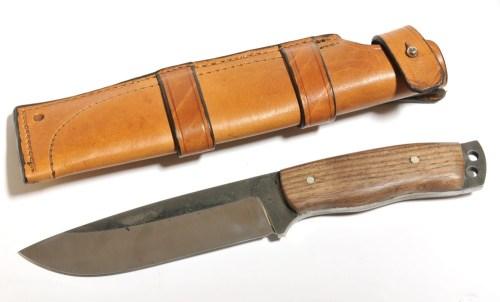 Cuţit mare, 255 mm, oţel D2 - 95 euro